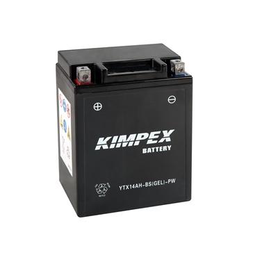 Kimpex Batterie Haute Performance AGM sans entretien YTX14AH-BS(GEL)