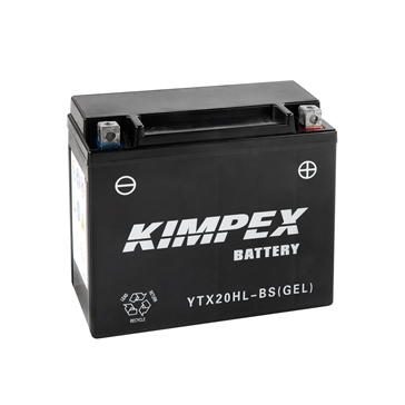 Kimpex Factory Activated Maintenance Free Gel Battery YTX20HL-BS(GEL)-PP