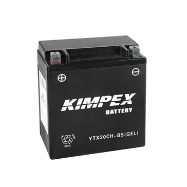 Kimpex Factory Activated Maintenance Free Gel Battery YTX20CH-BS(GEL)-PP
