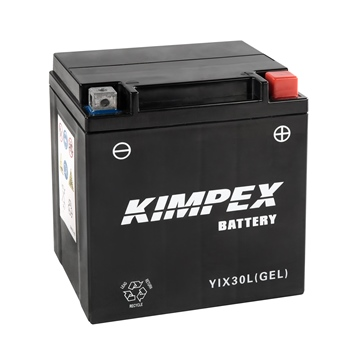 Kimpex Factory Activated Maintenance Free Gel Battery YIX30L(GEL)-PP