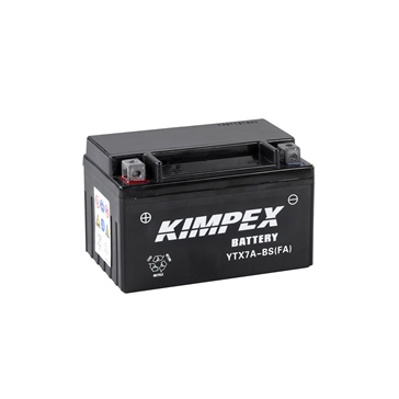 Kimpex Battery Maintenance Free AGM YTX7A-BS(FA)