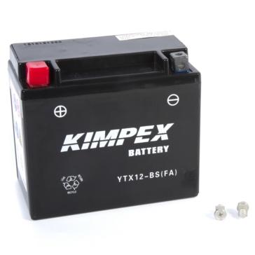 Kimpex Batterie sans entretien YTX12-BS(FA)-PP