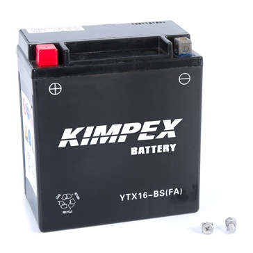 Batterie sans entretien KIMPEX YTX16-BS(FA)-PP