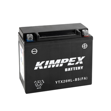 Kimpex Battery Maintenance Free AGM High Performance YTX20H(L)-BS(FA)