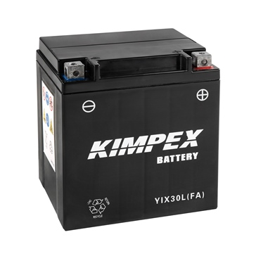 Kimpex Battery Maintenance Free AGM YIX30L