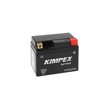 Kimpex Battery Maintenance Free AGM High Performance YTZ5S (FA)