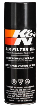 K&N Huile et nettoyant pour filtre à air