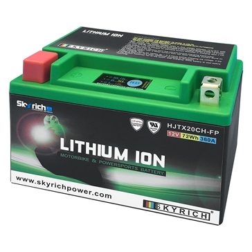 Skyrich Batterie au lithium-ion super performance HJTX20CH-FP