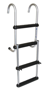 Foldable - 4 BOATER SPORTS Folding Pontoon Ladder