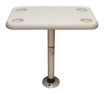 Tables pour Bateau Rectangulaire SPRINGFIELD Rectangulaire