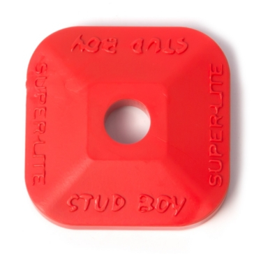 STUD BOY Plaque d'appui Super-Lite simple, 1.45""