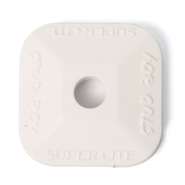 "Plaque d'appui Super-Lite simple, 1.45"" STUD BOY"