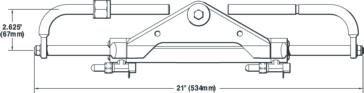 Outboard SEASTAR SOLUTION BayStar O/B Compact Cylinder - Honda