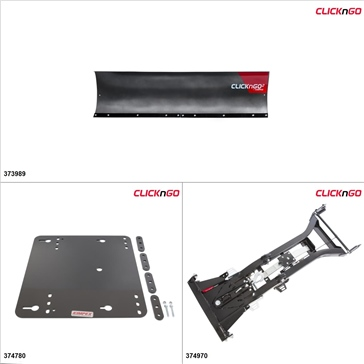 "ClickNGo GEN 2 UTV Plow Kit - 72"", Yamaha Viking 700 2014-17"