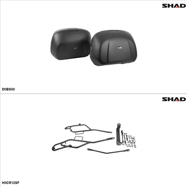 Shad SH42 Case kit - Lateral, Honda VFR1200X 2016-17