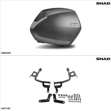 Shad SH36 Kit de valise - Latérale, Honda CTX700 2016-17