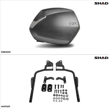 Shad SH36 Kit de valise - Latérale, Honda Interceptor 800 2002-09