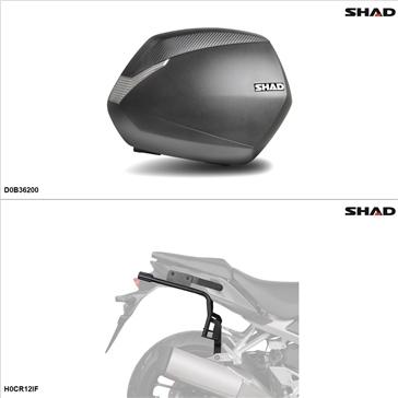 Shad SH36 Kit de valise - Latérale, Honda VFR1200X 2016-17