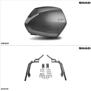 Shad SH36 Kit de valise - Latérale, Suzuki Vstrom 1000 2014