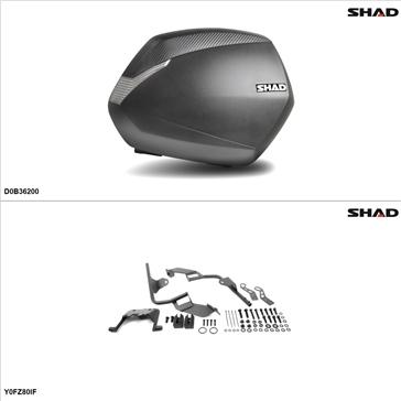 Shad SH36 Kit de valise - Latérale, Yamaha FZ8 2011-13