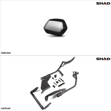 Shad SH35 Case kit - Lateral, Honda CRF1000L 2016-17