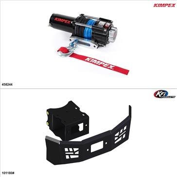 Kimpex 3500 lb Winch Kit - Synthetic, Polaris ACE 570 2016-19