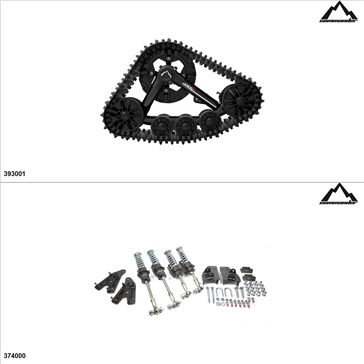 Commander WSS4 UTV Track Kit - 4 Seasons, Arctic Cat Prowler 650 2007-08