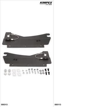 KimpexSeatJack - Passenger Seat Kit - Black, Arctic Cat M6000 2014-18