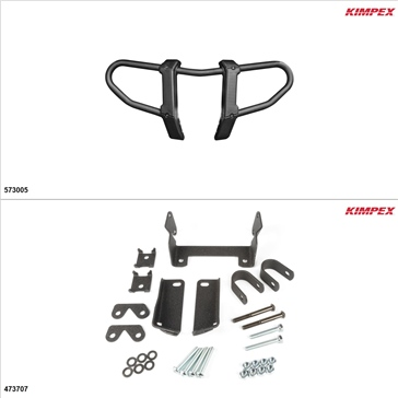 Kimpex Gen 2.1 Front Bumper Kit, Yamaha Kodiak 450 2018