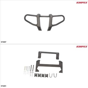 Kimpex Gen 2.1 Front Bumper Kit, Honda Foreman 500 2014-15