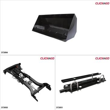 """ClickNGo GEN 2 ATV Plow kit - 42"""", Arctic Cat XR 550 2015"""