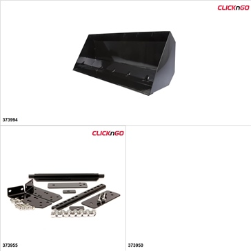 "ClickNGo GEN 2 ATV Plow kit - 42"", Can-Am Renegade 1000 2012-15"