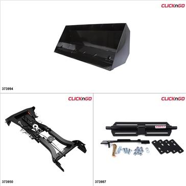 "ClickNGo GEN 2 Kit de pelle VTT - 42"", Polaris Sportsman 400 2001-05, 11-14"