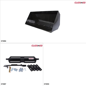 "ClickNGo GEN 2 ATV Plow kit - 42"", Polaris Sportsman 400 2005, 11-14"