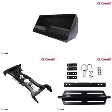 "ClickNGo GEN 2 ATV Plow kit - 42"", Polaris Sportsman 500 2011-13"