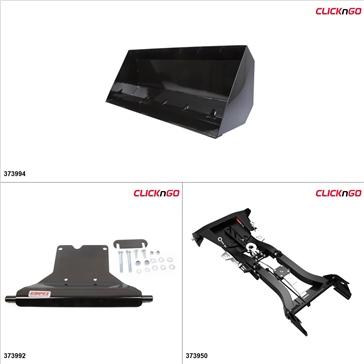 "ClickNGo GEN 2 ATV Plow kit - 42"", Polaris ACE 2016"