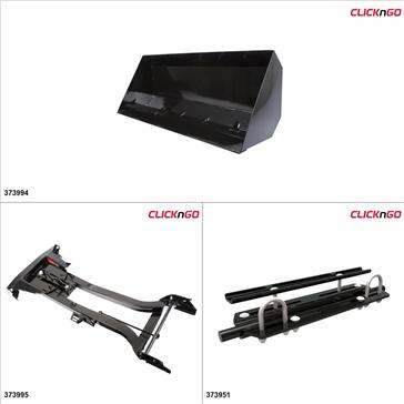 "ClickNGo GEN 2 ATV Plow kit - 42"", Arctic Cat 1000 2009-17"