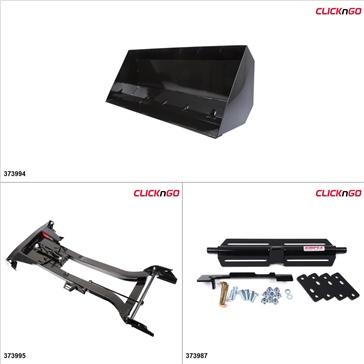 "ClickNGo GEN 2 ATV Plow kit - 42"", Polaris Sportsman 400 2001-05, 11-14"