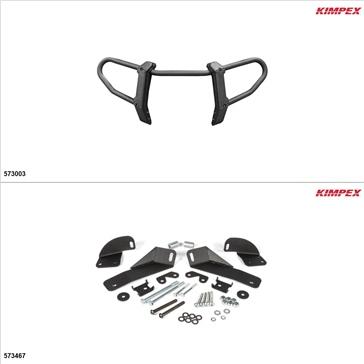 Kimpex Gen 2.1 Front Bumper Kit, Polaris Sportsman 850 2017-19