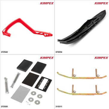 Kimpex - Arrow II Ski Kit - Black, Arctic Cat M6000 2014-15