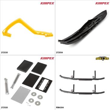 Kimpex - Arrow II Ski Kit - Black, Ski-Doo GTX 600 2005