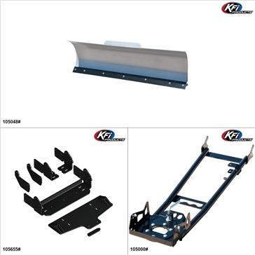 "KFIProducts - ATV Plow kit - 48"", Textron Off Road Wildcat Sport 700 2018"