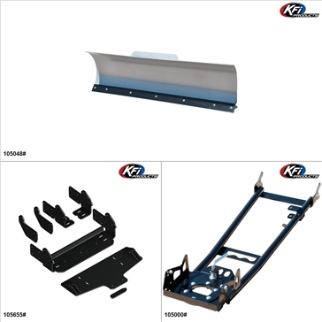 "KFIProducts - ATV Plow kit - 48"", Arctic Cat 1000 2010"