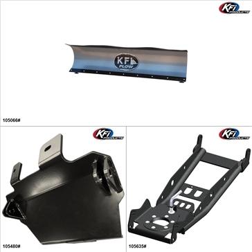 KFIProducts - UTV Plow Kit - 66'', CF-Moto Z6 2012