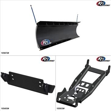 """KFIProducts - Kit de pelle UTV - 72"""", John Deere Gator XUV 550 2012-16"""