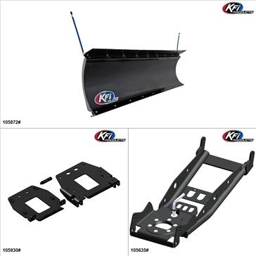 "KFIProducts - Kit de pelle UTV - 72"", Polaris General 1000 2016-18"