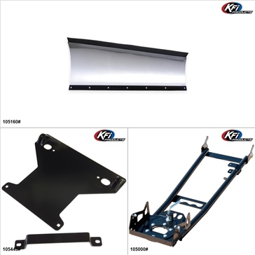 KFIProducts - ATV Plow kit - 60'', Can-Am Outlander 1000 2012-18