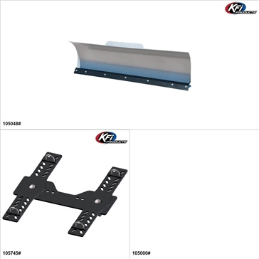 "KFIProducts - ATV Plow kit - 48"", Arctic Cat 1000 2009-17"