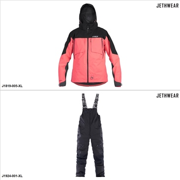 Jethwear The Burn Jacket/Pants Suit - XL