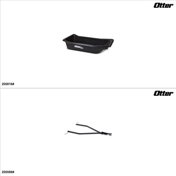 OtterOutdoors - Sleigh and Hitch Kit